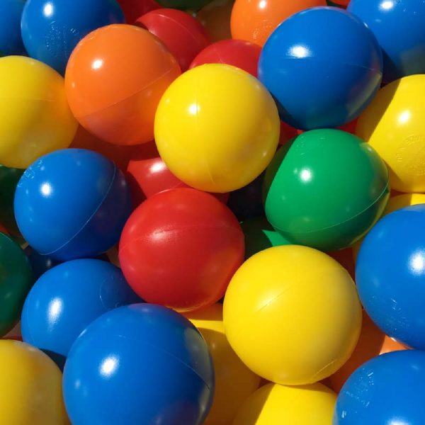 5 Colour Mix Playpen Balls