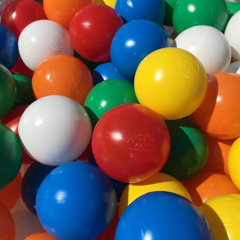 6 Colour Mix Playpen Balls