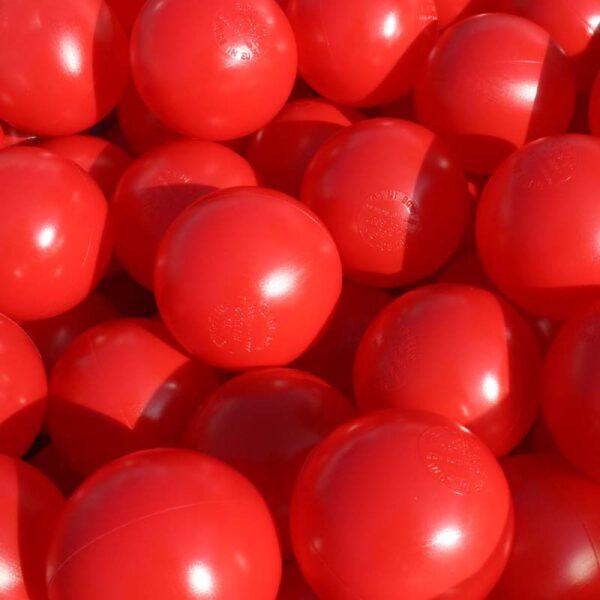 Red Playpen Balls