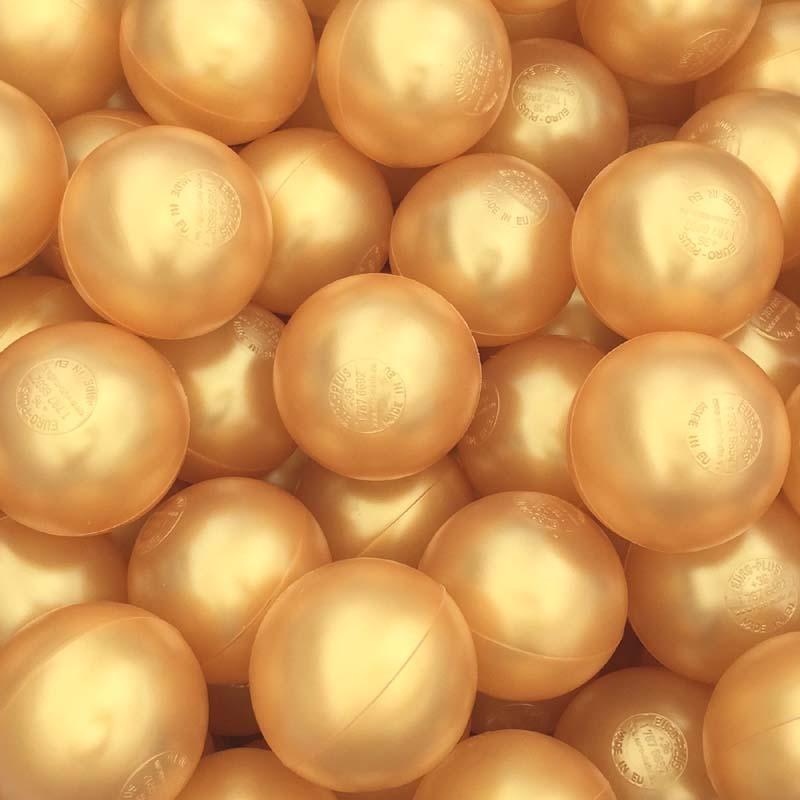 Gold Playpen Balls